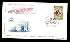 Belgium 1966 European Chmical Plant FDC #C3149