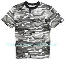 Nuevo Combate Militar Ejército Americano de EE. UU. estilo Urban Camo T-shirt XS-XXXL