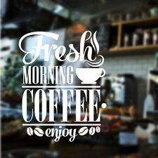 RESTAURANTE Pegatina Para Pared Café Cafetería Adhesivo Adhesivo vinilo cita