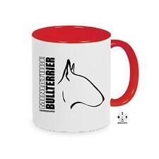 Mugwilprof tasse de café tasse miniature Bullterrier profil wilsigns siviwonder