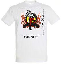 Foto T-Shirt drucken . T-Shirts bedrucken mit Foto Text oder Logo.