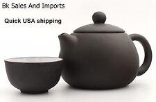 Yixing Purple Clay, USA SHIPPING, Zisha Teapot, 4 Piece Tea Set
