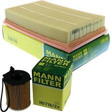 MANN-Filter Set Ölfilter Luftfilter Inspektionspaket MOL-9308616