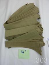 c. WWII British Military Army KD Khaki Drill Collar for Collarless Shirt