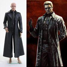Resident Evil 5 Albert Wesker Coat Jacket Costume Cosplay Halloween Party