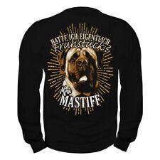 Pullover Sweatshirt English Mastiff Dogs Rasse Molosser Begleithunde Schutzhunde