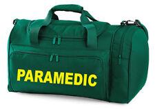 Paramédico bolsa de transporte Kit Impreso Medic Primeros Auxilios Médico amblance Medic Holdall