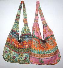 Tasche Umhängetasche Hippy Boho Vintage Strand Stoff Schultertasche bunt bag hip
