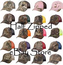 Camo Trucker Baseball Hat - Kati Camo Mesh Back Cap LC5M 20 options!!