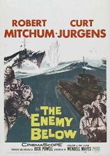 71192 The Enemy Below Movie Robert Mitchum urd Jurgens Wall Print Poster AU