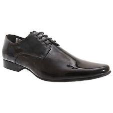 Goor - Zapatos de vestir de piel patentada con cordones Modelo Gibson (DF129)