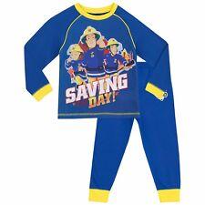 Fireman Sam Pyjamas | Kids Fireman Sam Pjs | Boys Fireman Sam Pyjama Set