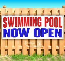 Swimming Pool Now Open Advertising Vinyl Banner Flag Sign Many Sizes