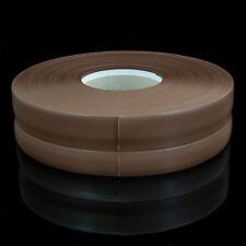 CENDRE PLINTHE SOUPLE 32mm x 23mm PVC sol mur jointure strip flexible