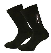 12 Paar Herren Business Socken ohne Gummi in schwarz Baumwolle Gr. 39-42  43-46