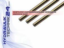 Hydraulikrohr Hydraulik-Leitung  nahtlos verzinkt versch. Größen/ Längen wählbar