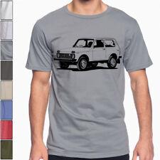 Lada Niva 4x4 Sport Taiga Off  Road Cotton T-Shirt Multi Colors Bushman Cossack