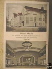 3421 AK großröhrsdorf Hotel Haufe oggi cinema cultura CASA