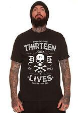Dragstrip Clothing 13 VITE scatenare un PUTIFERIO Motociclista Hot Rod Tatuaggio scatenare un PUTIFERIO t`shirt