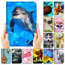 Animal Protective Flip Case Cover for iPad 5 6 7 Mini Air 9.7 10.5 10.2 P001