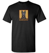 Scottish Terrier Cartoon T-Shirt - Men, Women, Youth, Tank, Short, Long Sleeve