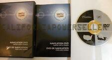 GM DVD version 1.0 NAVIGATION DISC DVD CD 10381281 OEM System Map
