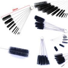 20x Nylon Cleaning Brush Set Test Tube Bottle Straw Washing Cleaner Bristle Kit