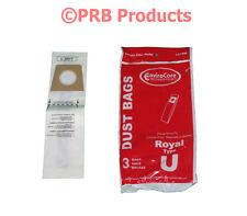 Type U Royal Dirt Devil 3-920750-001 Upright 1 ply Vacuum Bag Magna Featherlite