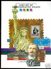 1985 Year set  MNH  mounted in book FV $6.00+