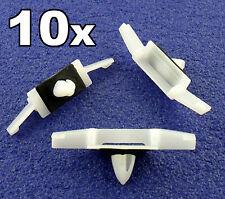 10x Honda Vitre Latérale Pluie Chaînes/égouttement Moulure