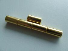 Neodym Magnet Starke Zylinder Magnete  N38 Gold Größe & Menge Wählbar
