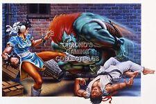 RGC Huge Poster - Street Fighter II PS4 PS3 II III IV V Arcade Super - STR017