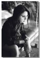 61830 Hot Music Singer Lana Del Rey FRAMED CANVAS PRINT UK