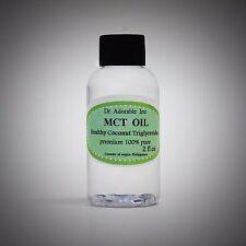 Premium Coconut MCT Oil Pure Natural Vegan Sport Energy MediumChain Triglyceride