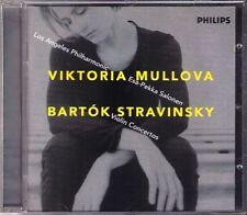 MULLOVA: BARTOK Violin Concerto 2 STRAVINSKY SALONEN CD Viktoria Esa-Pekka