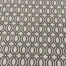 Mirabello Smoke Grey Faux Silk Jacquard 140cm wide Curtain/Upholstery Fabric