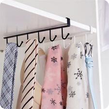 Under Shelf Cup Mug Holder Hangers Storage Racks Kitchen Cupboard Black White