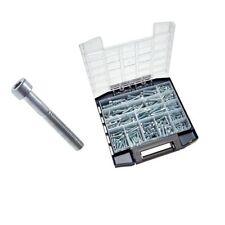 Sortimentsbox Innensechskantschrauben DIN 912 8.8, Stahl vz., Schrauben 260 tlg.