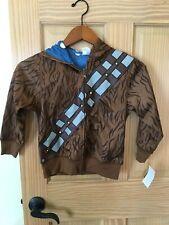 NWT DISNEY Chewbacca Costume Sweatshirt Hoodie Jacket  Star Wars