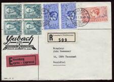 Svizzera 1938 Express REG.3 col.cover.. PRO JUVENTUTE