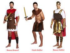 adulte GLADIATEUR ROMAIN costume grec soldat guerrier Déguisement Brame Fête