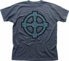 CELTIC CROSS design Ireland Scotland printed t-shirt FN9294