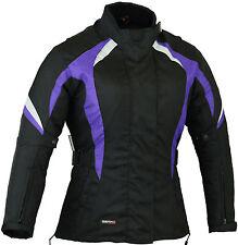 Violet Mesdames moto veste moto imperméable manteau