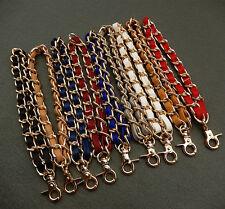 Leather Metal Wallet Handbag Handle Replacement Purse Clutch Wristlet Bag Strap