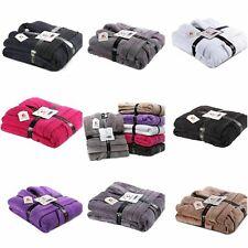100% Cotton Terry Toweling Hood Bathrobe Mens & Ladies Dressing Gown Bath Robe