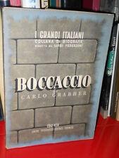 Carlo Grabher - Boccaccio- UTET - 1941