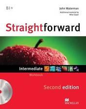 Straightforward (2nd Edition) Intermediate Workbook without Answer Key with...
