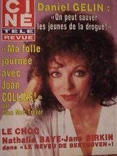 ▬► 1985 Ciné Revue 35 Joan Collins Rika Zaraï Jane Birkin Charlotte Rampling