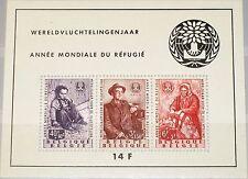 BELGIUM BELGIEN 1960 Block 26 S/S B662a World Refugee Y. Weltflüchtlingsjahr MNH