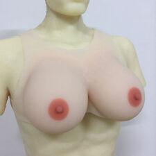 IVITA Realistic Full Silicone Breast Forms Crossdresser TG False Boobs Enhancer